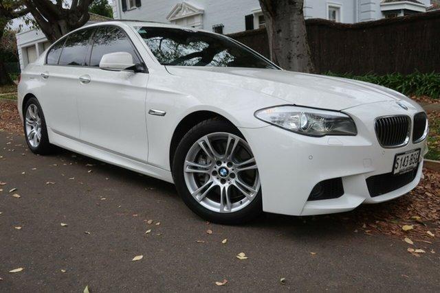 Used BMW 5 Series F10 LCI 535i Steptronic M Sport Prospect, 2013 BMW 5 Series F10 LCI 535i Steptronic M Sport White 8 Speed Sports Automatic Sedan