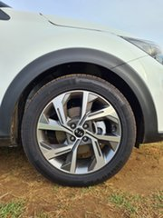 2021 Kia Stonic YB MY21 GT-Line DCT FWD Clear White & Aurora Black 7 Speed