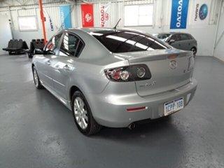 2007 Mazda 3 BK10F2 Maxx Sport Silver 4 Speed Sports Automatic Sedan