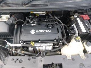 2012 Holden Barina TK Black Manual Hatchback