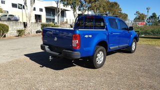 2014 Holden Colorado RG MY14 LT (4x4) Blue 6 Speed Manual Crew Cab Pickup.