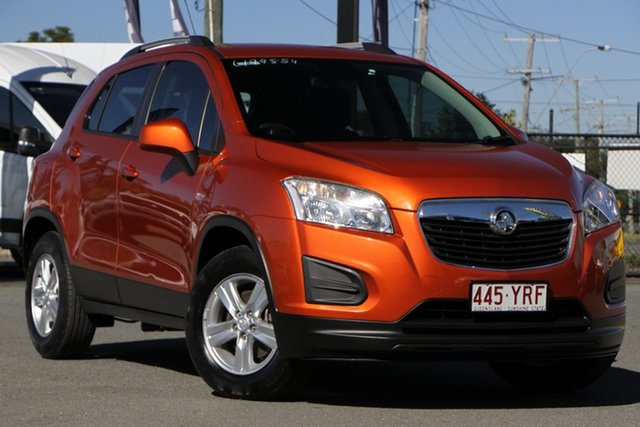 Used Holden Trax TJ MY14 LS Rocklea, 2014 Holden Trax TJ MY14 LS Orange 5 Speed Manual Wagon