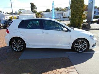 2015 Volkswagen Golf VII MY15 103TSI DSG Highline White 7 Speed Sports Automatic Dual Clutch.