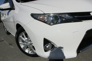 2014 Toyota Corolla ZRE182R Ascent Sport S-CVT Glacier White 7 Speed Constant Variable Hatchback.