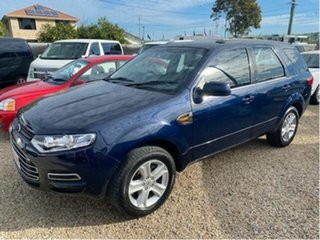 2013 Ford Territory SZ TX (RWD) Blue 6 Speed Automatic Wagon.