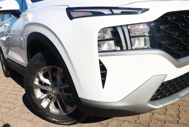 New Hyundai Santa Fe Tm.v3 MY21 Ravenhall, 2021 Hyundai Santa Fe Tm.v3 MY21 White Cream 8 Speed Sports Automatic Wagon