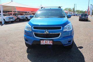 2014 Holden Colorado RG MY14 LX Crew Cab Blue 6 Speed Manual Utility.