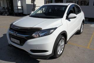 2018 Honda HR-V MY17 VTi White 1 Speed Constant Variable Hatchback.