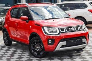 2021 Suzuki Ignis MF Series II GLX Fervent Red 1 Speed Constant Variable Hatchback.