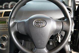 2007 Toyota Yaris NCP93R YRS Black 4 Speed Automatic Sedan.