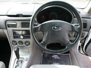 2004 Subaru Forester 79V X White Automatic Wagon