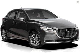 2021 Mazda 2 DJ2HAA G15 SKYACTIV-Drive Pure Grey 6 Speed Sports Automatic Hatchback.