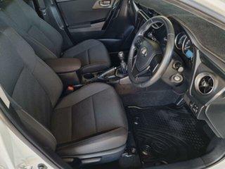 2018 Toyota Corolla ZRE182R Ascent Sport Glacier White 6 Speed Manual Hatchback