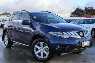 2009 Nissan Murano Z51 TI Blue 6 Speed Constant Variable Wagon