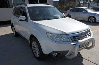 2011 Subaru Forester S3 MY11 XS AWD White 4 Speed Sports Automatic Wagon.