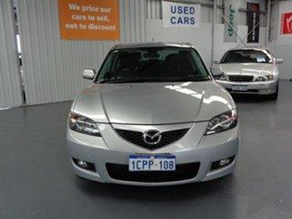 2007 Mazda 3 BK10F2 Maxx Sport Silver 4 Speed Sports Automatic Sedan.