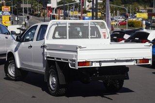 2018 Isuzu D-MAX MY17 SX Crew Cab White 6 Speed Sports Automatic Utility.