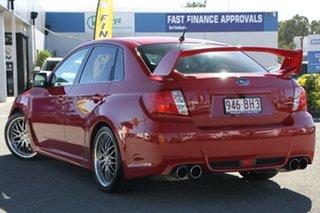 2010 Subaru Impreza G3 MY11 WRX AWD Lightning Red 5 Speed Manual Sedan.