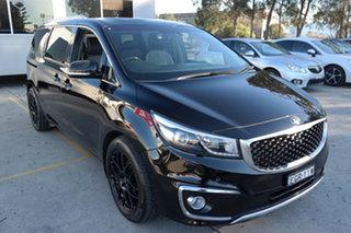 2015 Kia Carnival YP MY15 Platinum Black 6 Speed Sports Automatic Wagon.