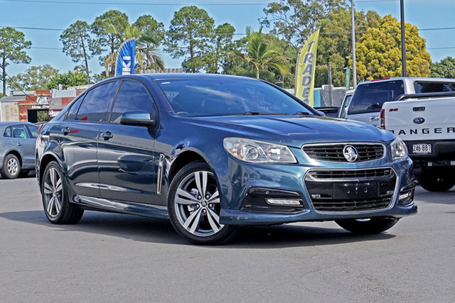 Used Holden Commodore VF MY14 SV6 Chandler, 2013 Holden Commodore VF MY14 SV6 Blue 6 Speed Sports Automatic Sedan