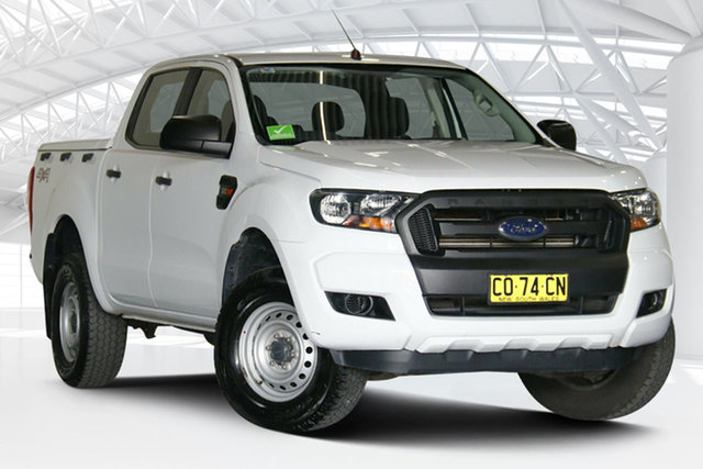 Used Ford Ranger PX MkII XL Moorebank, 2017 Ford Ranger PX MkII XL White 6 Speed Sports Automatic Utility