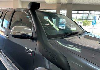 2014 Toyota Hilux KUN26R MY14 SR5 Xtra Cab Charcoal 5 Speed Manual Utility