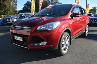 2015 Ford Kuga TF MY16 Trend AWD Red 6 Speed Sports Automatic Wagon