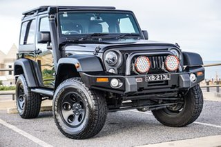 2018 Jeep Wrangler JK MY18 Sport Black 5 Speed Automatic Softtop.