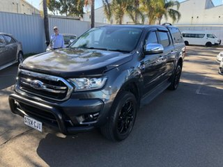 2018 Ford Ranger PX MkIII 2019.00MY XLT Grey & Black 10 Speed Sports Automatic Utility