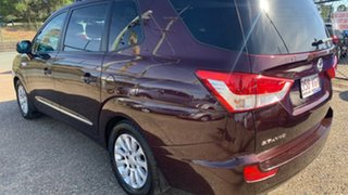 2014 Ssangyong Stavic A100 MY13 SPR Maroon 5 Speed Automatic Wagon