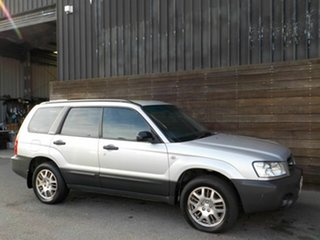 2003 Subaru Forester 79V MY03 X AWD Silver 5 Speed Manual Wagon.