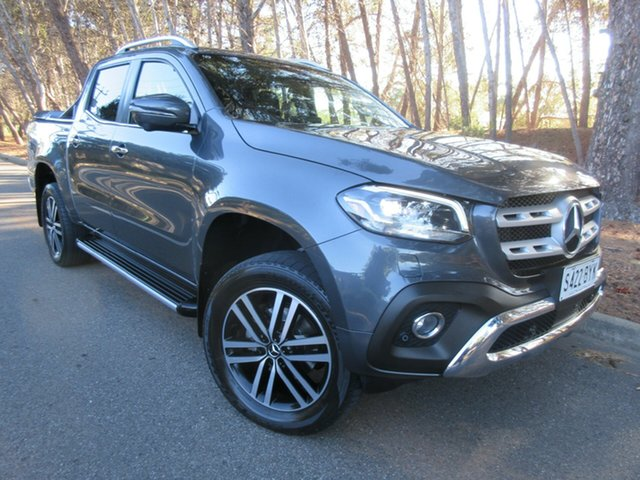 Used Mercedes-Benz X-Class 470 X250d 4MATIC Power Reynella, 2018 Mercedes-Benz X-Class 470 X250d 4MATIC Power Grey 6 Speed Manual Utility