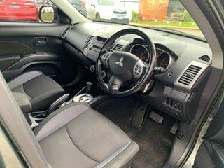2007 Mitsubishi Outlander ZG MY08 LS Grey 6 Speed CVT Auto Sequential Wagon