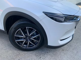 2021 Mazda CX-5 KF4WLA GT SKYACTIV-Drive i-ACTIV AWD Snowflake White 6 Speed Sports Automatic Wagon.