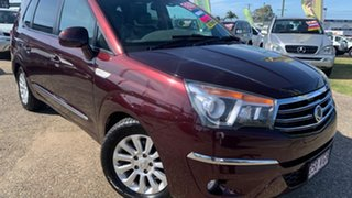 2014 Ssangyong Stavic A100 MY13 SPR Maroon 5 Speed Automatic Wagon.