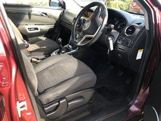 2013 Holden Captiva CG Series II MY12 5 Maroon 6 Speed Manual Wagon