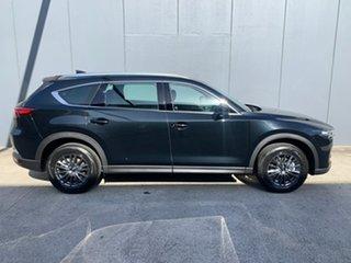2021 Mazda CX-8 KG2WLA Touring SKYACTIV-Drive FWD Jet Black 6 Speed Sports Automatic Wagon.
