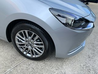 2021 Mazda 2 DJ2HAA G15 SKYACTIV-Drive Evolve Sonic Silver 6 Speed Sports Automatic Hatchback.