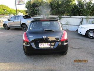 2011 Suzuki Swift EZ 07 Update Black 5 Speed Manual Hatchback