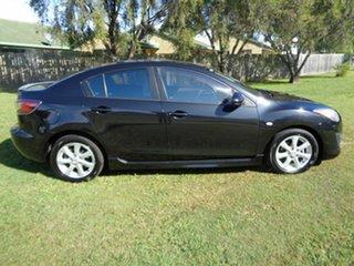 2010 Mazda 3 BL10F1 Maxx Activematic Black 5 Speed Sports Automatic Sedan.
