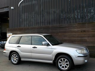 2005 Subaru Forester 79V MY06 XS AWD Silver 4 Speed Automatic Wagon.