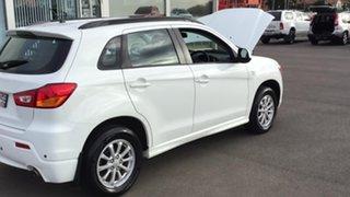 2012 Mitsubishi ASX XA MY12 2WD White 6 Speed Constant Variable Wagon.
