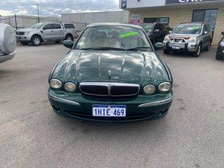 2003 Jaguar X-Type Green 5 Speed Automatic Sedan.