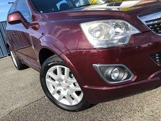 2013 Holden Captiva CG Series II MY12 5 Maroon 6 Speed Manual Wagon.
