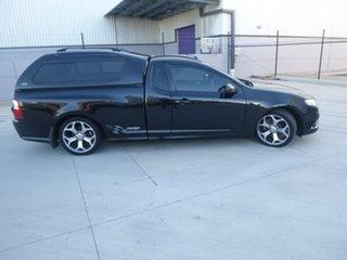 2010 Ford Falcon FG XR6 50th Anniversary Black Sports Automatic Utility.
