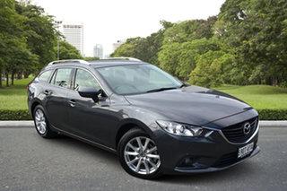 2013 Mazda 6 GJ1021 Touring SKYACTIV-Drive Grey 6 Speed Sports Automatic Wagon.