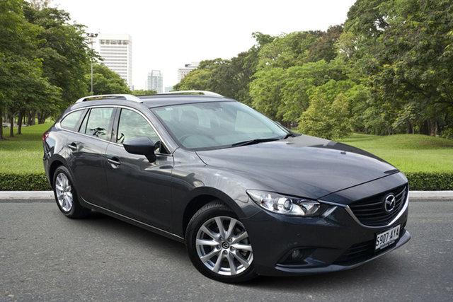 Used Mazda 6 GJ1021 Touring SKYACTIV-Drive Paradise, 2013 Mazda 6 GJ1021 Touring SKYACTIV-Drive Grey 6 Speed Sports Automatic Wagon