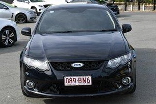 2011 Ford Falcon FG Upgrade XR6T Black 6 Speed Auto Seq Sportshift Sedan.