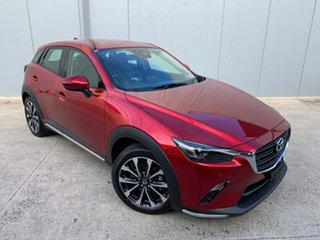 2021 Mazda CX-3 DK4W7A sTouring SKYACTIV-Drive i-ACTIV AWD Soul Red Crystal 6 Speed Sports Automatic.