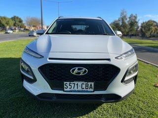 2018 Hyundai Kona OS.2 MY19 Active D-CT AWD White 7 Speed Sports Automatic Dual Clutch Wagon.
